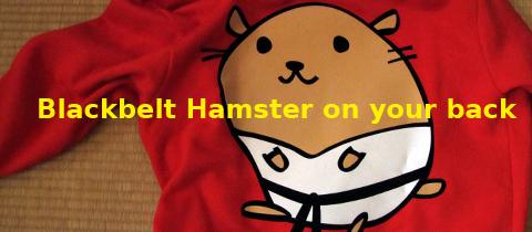 Black Belt Hamster